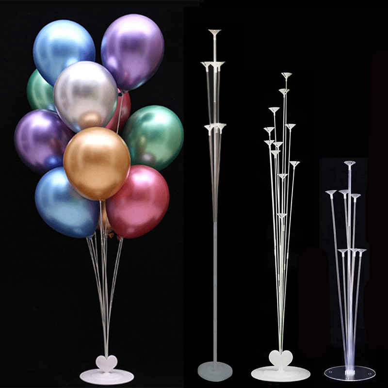 Wedding Decoration Balloons Stand Holder Column Stick Baloon Baby Shower Balloon Glue Dot Arch Birthday Party Decor Globos