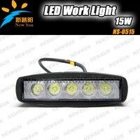 15W LED Offroad Work Light Lamp Flood Spot Beam 12V 24V ATV BOAT Tractor IP67 Epsitar