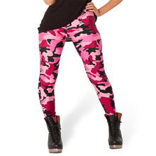 4c1c5c8b88de53 HOT Sexy Fashion Womens Pirate Leggins Pants Digital Printing CAMO PINK  LEGGINGS - LIMITED Woman Leggings