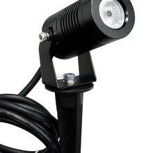 3 Вт наружный садовый светильник, меняющий цвет, светодиодный светильник для газона, водонепроницаемый RGB светодиодный светильник, ландшафтный Точечный светильник, Теплый Холодный белый, 4 шт./лот