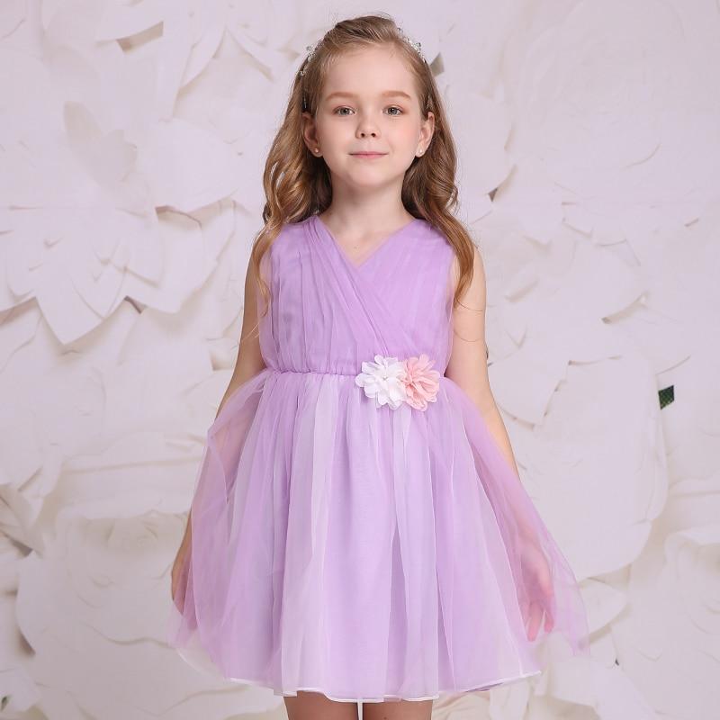 ФОТО 2017 New BABY GIRLS PARTY DRESS BIRTHDAY DRESS KID DRESS CHILDREN BEAUTY BALL GOWNS