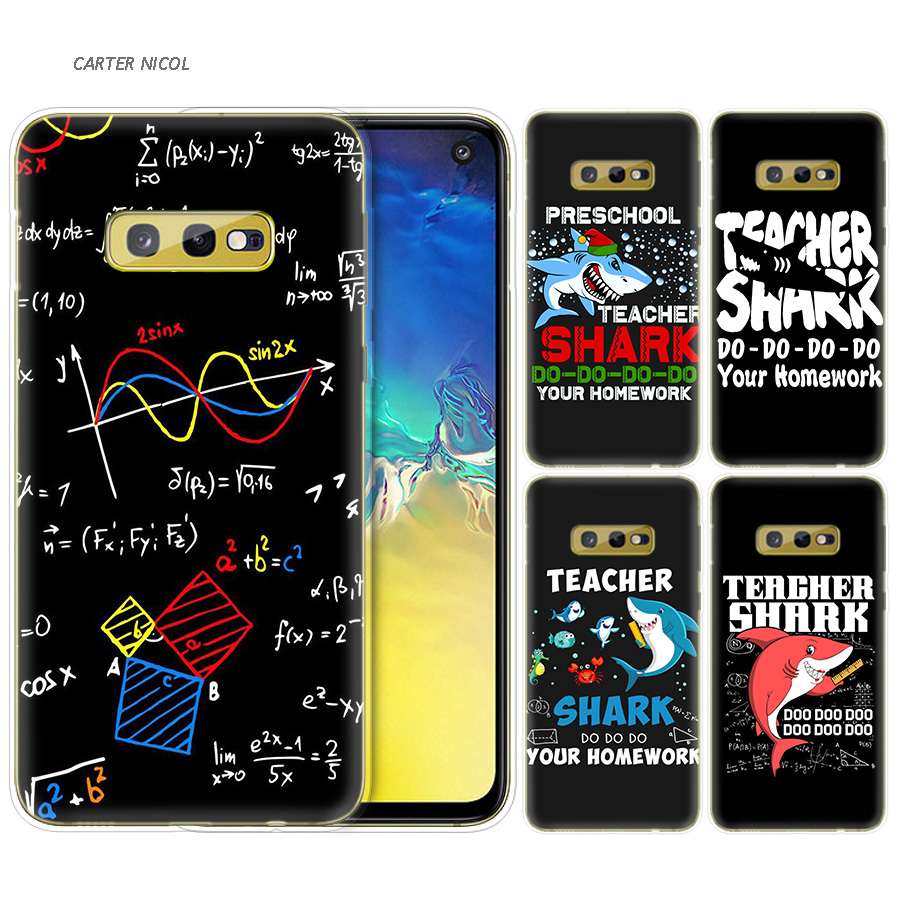 Fitted Cases The Best Silicone Case For Samsung Galaxy S10 S10e S8 S9 J4 J6 A6 A8 Plus 5g M30 M20 M10 A50 A30 A10 Cover Teacher Artist Chemist Doctor Activating Blood Circulation And Strengthening Sinews And Bones Phone Bags & Cases