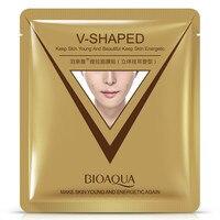 12Pcs BIOAQUA Firming 3D Facial Mask V Line Slimming Lifting Shaping Whitening Moisturizing Brighten Mask Skin Care Face Mask & Treatments