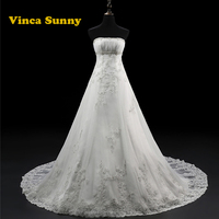Robe De Mariage Top crystal beading Maternity Wedding Dress Pregnant women Bridal Gown Vestido De Noiva vestido de noiva longo