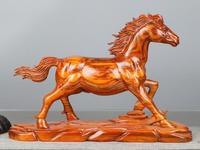 Желтые груши одноцветное резьба по дереву лошадь принимает привести дома гостиная украшения офиса привлечь висит бизнес