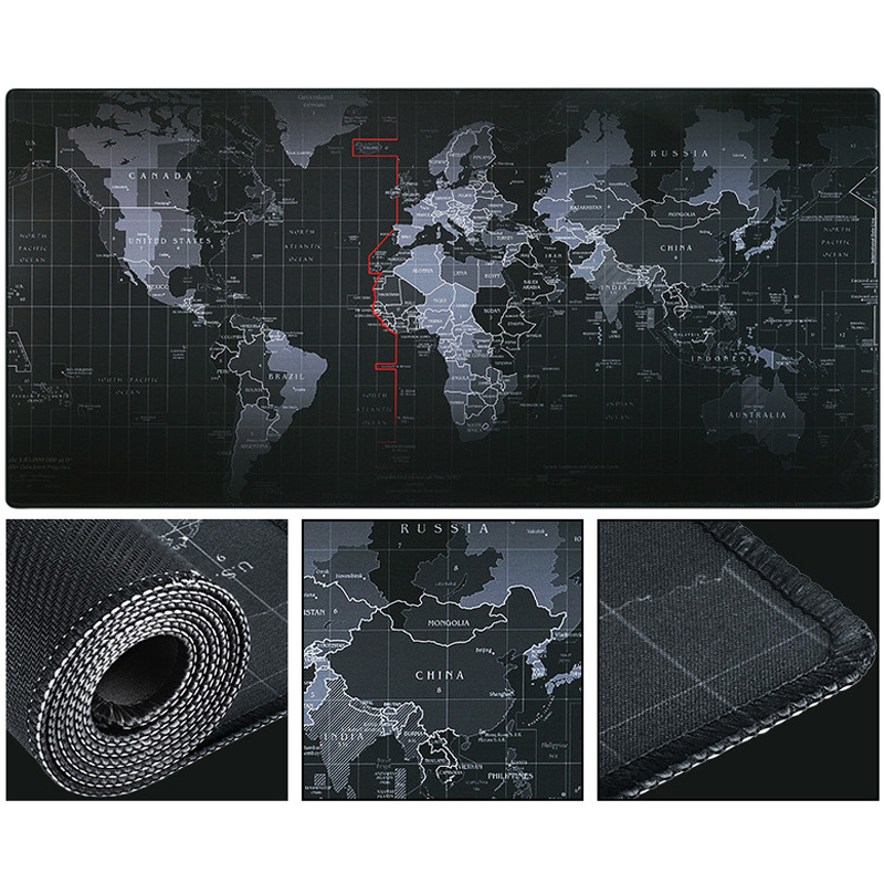 2020 Newest  Huge Extra Large Size Gaming Mouse Pad Locked 700*300 800*400 900*400 1000*500mm For Optical Trackball Laser Mouse