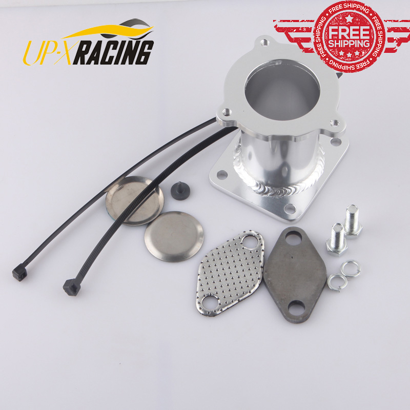 FREE Shipping ALUMINUM EGR REMOVAL KIT BLANKING BYPASS FOR BMW 5 SERIES E60 E61 E61N 520i 525d 530d 535d DELETE KIT EGR1118