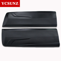 Body Cladding Car Accessories ABS Black Side Molding Body Kits For Toyota Hilux Revo Rocco 2016 2017 2018 2019