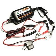 Motopower 12 V 1.5A chargeur de batterie mainteneur Batteries au plomb – acide au Lithium – Ion Batteries de voiture, Camion, Bateau, Moto, Vtt, Etc