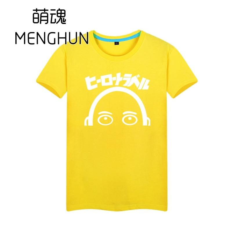 Bir punch man isti yeni animasiya 2017 anime t-shirt Saitama hissi - Kişi geyimi - Fotoqrafiya 1