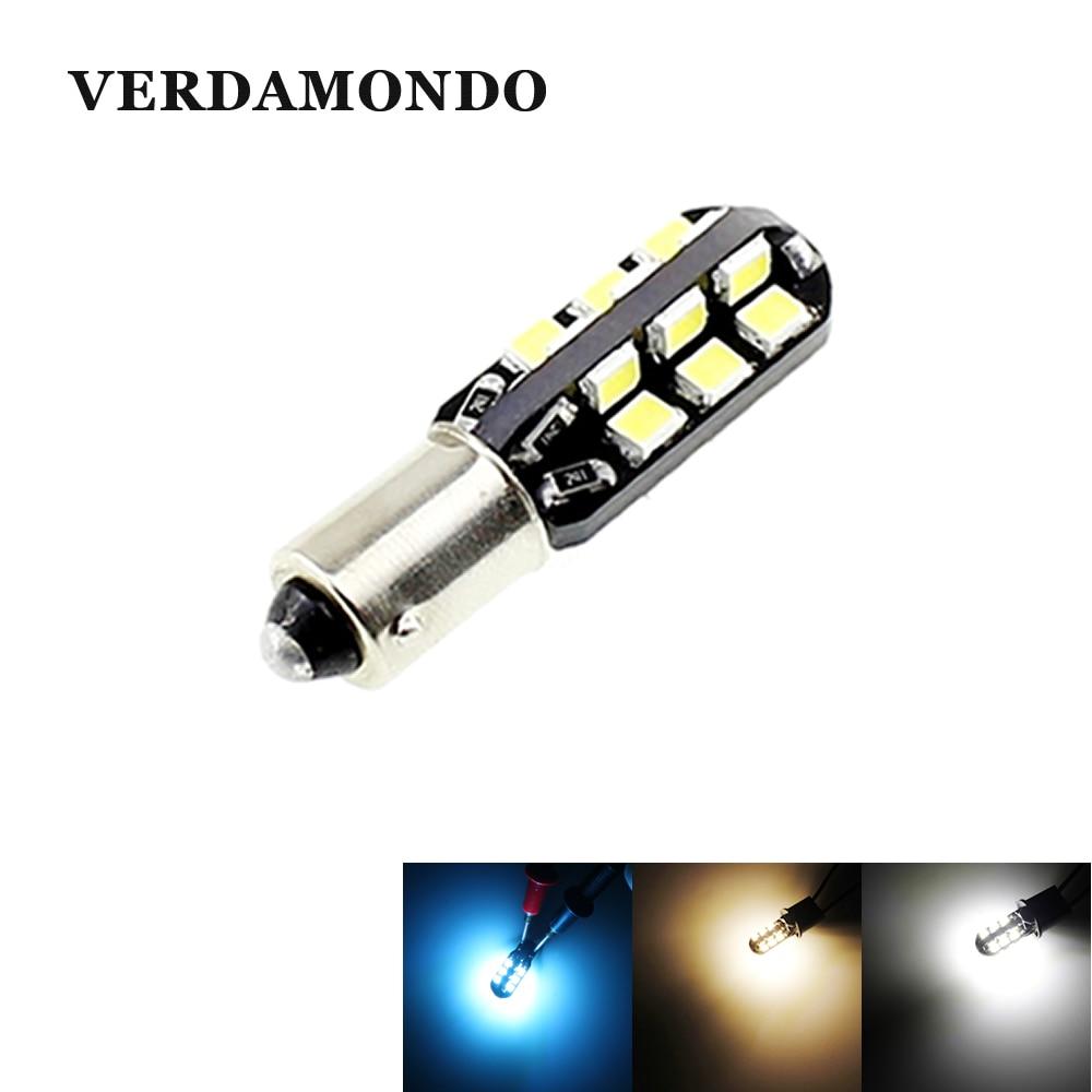 BA9S T4W 24 2835 Светодиодный светильник лампы для автомобиля для чтения в автомобиле стиль светильник Боковой габаритный фонарь светильник бело...