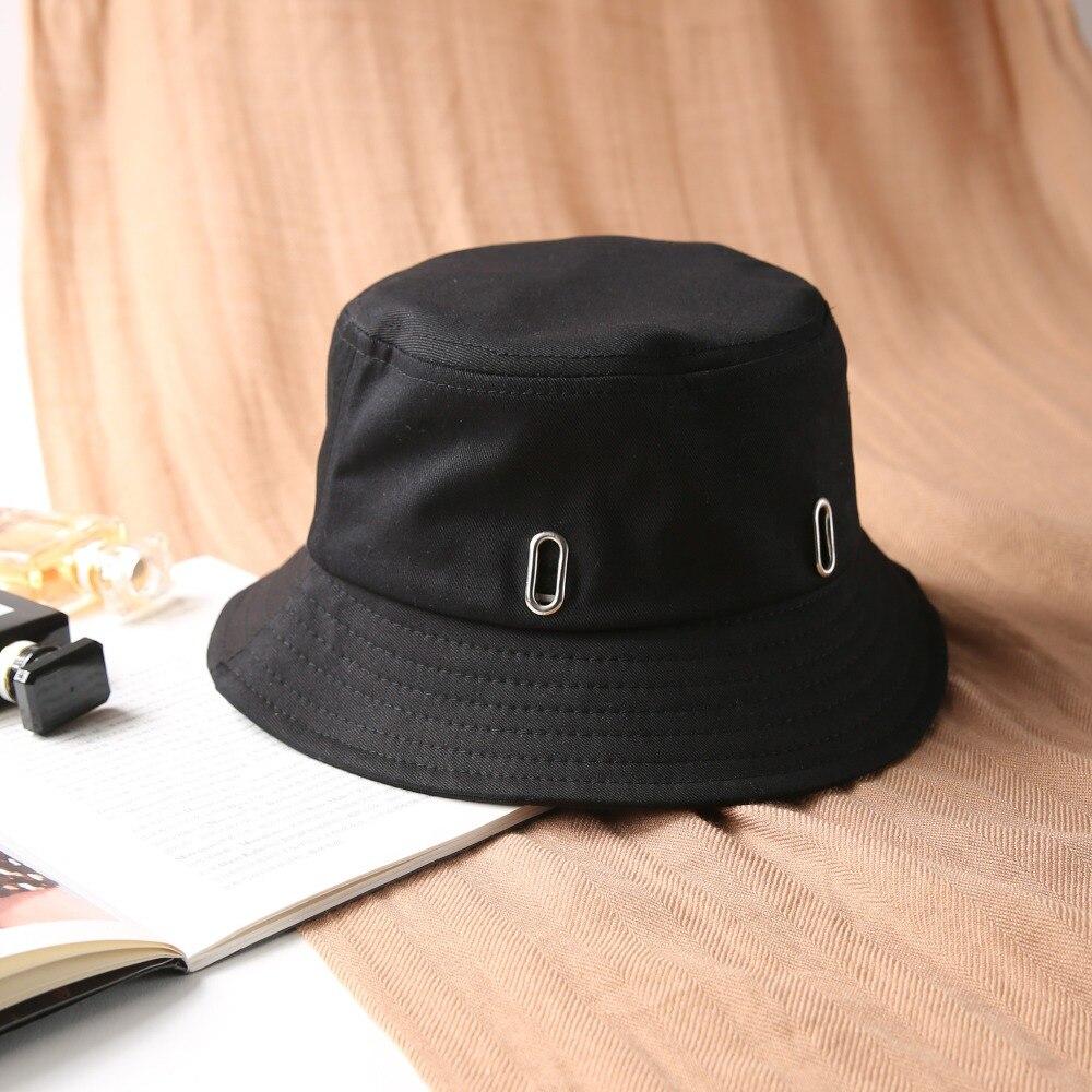 19dd6f23905 2018 Bucket Hat Unisex Fashion Bob Caps Hip Hop Gorros Men Summer Cotton  Caps Beach Sun Fishing Bucket Hat-in Bucket Hats from Apparel Accessories  on ...