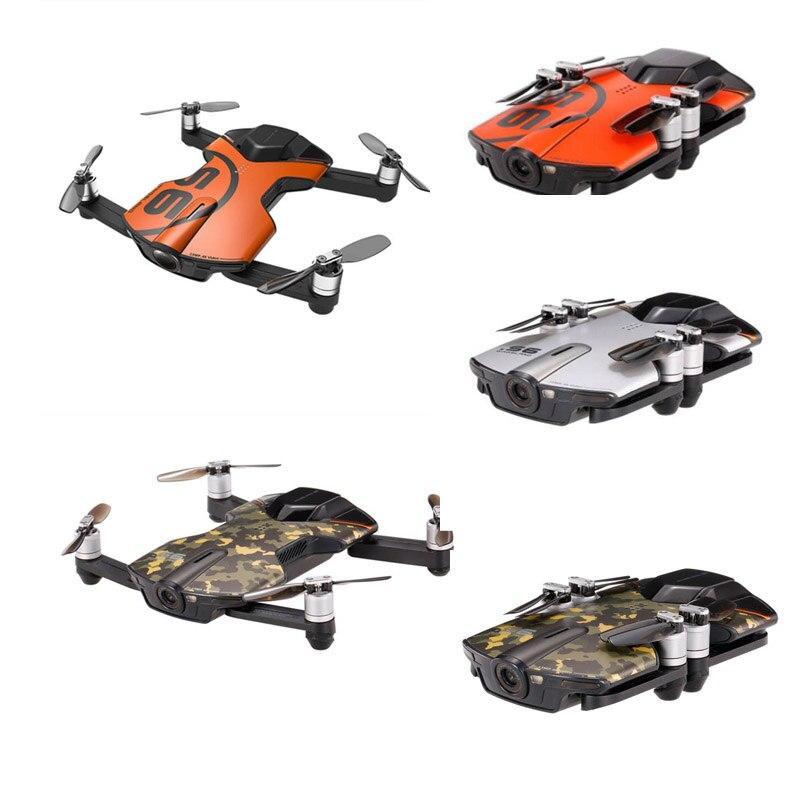 Wingsland S6 pour poche Selfie Drone WiFi FPV 4 K UHD caméra complète évitement d'obstacles APP contrôle pliable RC quadrirotor