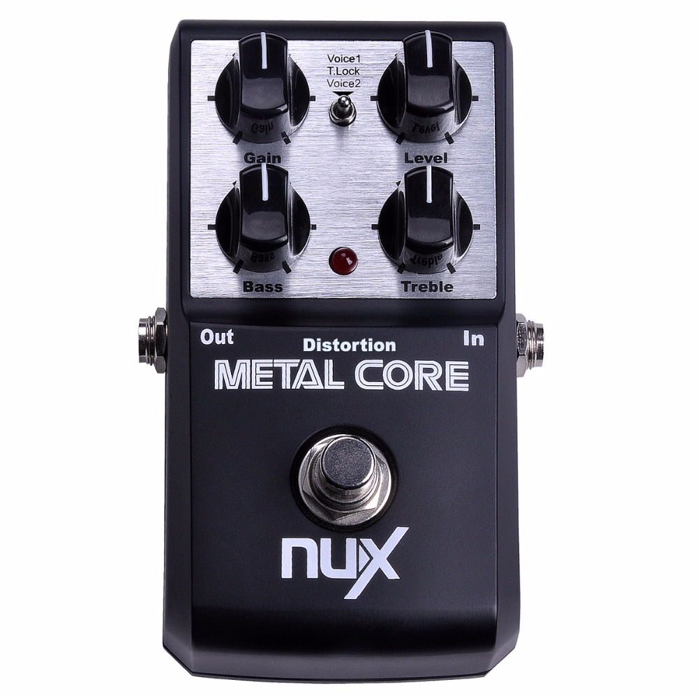 nux metal core distortion guitar pedal true bypass guitar effects pedal built in noise gate 2. Black Bedroom Furniture Sets. Home Design Ideas