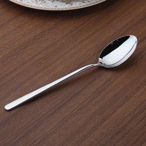 Image 5 - Zestaw obiadowy Cozy Zone 24 sztuki zestaw sztućców stal nierdzewna zachodnia zastawa stołowa klasyczny zestaw obiadowy nóż widelec restauracja jadalnia