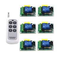 220v Wireless Remote Control Switch Water Pump Motor Controller 30a Control Board High Power Remote Control