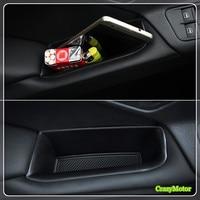 Car Interior Door Glove Box Organizer Case Storage Box For Volkswagen VW Tiguan 2010 2015 Auto