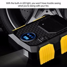 Portable Digital Tire Car, Bike, Bicycles Inflator