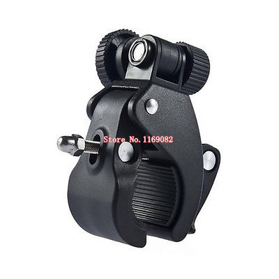 Bike Bicycle Handlebar Mount 1/4'' Screw Camera Clamp Bracket Tripod For DV Camera DSLR