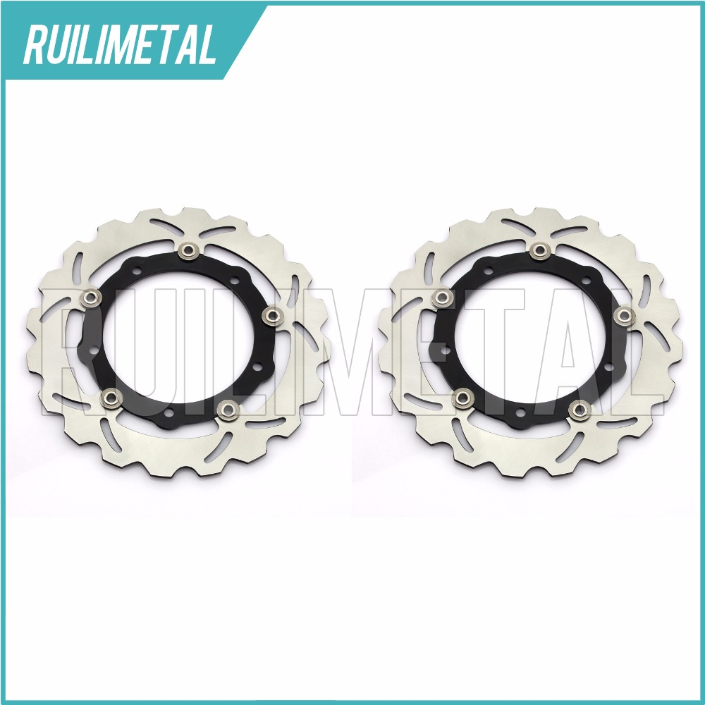 Front Brake Discs Rotors for YAMAHA X-MAX XMAX YP R ABS 125 250 400 2011-17 XP T-MAX IRON LUX MAX ABS 500 530 12 13 14 15 16 17 04 05 06 07 08 09 10 11 12 13 14 new cnc short straight adjustable brake clutch lever for yamaha majesty 400 t max 500 t max 530