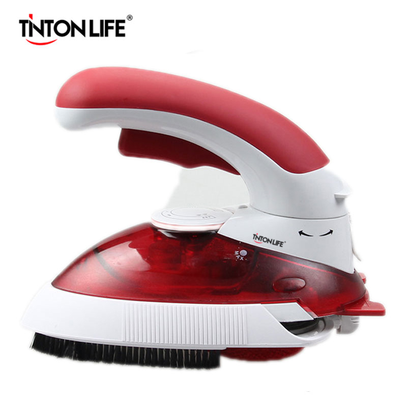 TINTON LIFE Travel Steam Iron Multifuction Electric Iron Steamer Mini Portable Handy Garment Steamer Iron 800W 220V EU PlugTINTON LIFE Travel Steam Iron Multifuction Electric Iron Steamer Mini Portable Handy Garment Steamer Iron 800W 220V EU Plug