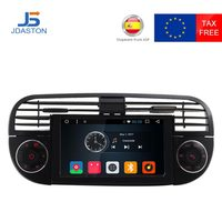 JDASTON 1 Din Android 6.0 Car Radio For Fiat 500 Abarth 2007 2008 2009 2015 Multimedia GPS Navigation Canbus Autoaudio Stereo