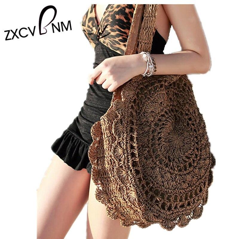 Zxcvbnm Summer Women Beach Bag Female Handbags Holiday