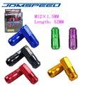 Xpower-20 PCS/set D1-SPEC TUERCAS de las RUEDAS PARA HONDA CIVIC INTEGRA-negro, rojo, verde, azul, de oro, púrpura, bronce (P: 1.5 L: 52 MM)