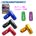 Xpower-20 PCS/set D1-SPEC WHEEL LUG NUTS FOR HONDA CIVIC INTEGRA -black,red,green,blue,gold,purple,bronze(P:1.5 L:52MM)