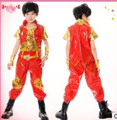 e9c4326a21f53 الدولية للطفولة مجموعات ملابس الأطفال الأولاد الدعاوى للمرحلة الأداء الصخور  الشارع الرقص 110-160 سنتيمتر