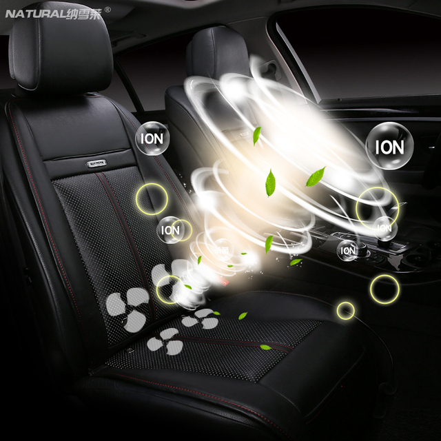 US $74 75 35% OFF|Car Cushion Heating Massage Blowing Cooling Universal for  Four Season Universal 5 Seat Car for Cruze Lavida Focus benz bmw 12V-in