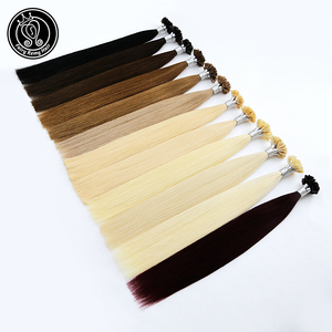 Fairy Remy Hair 22 Inch 1g/strand Real Remy Natural U Tip Extension Human Hair Light Blonde Colored Strands Hair On Capsule 50g