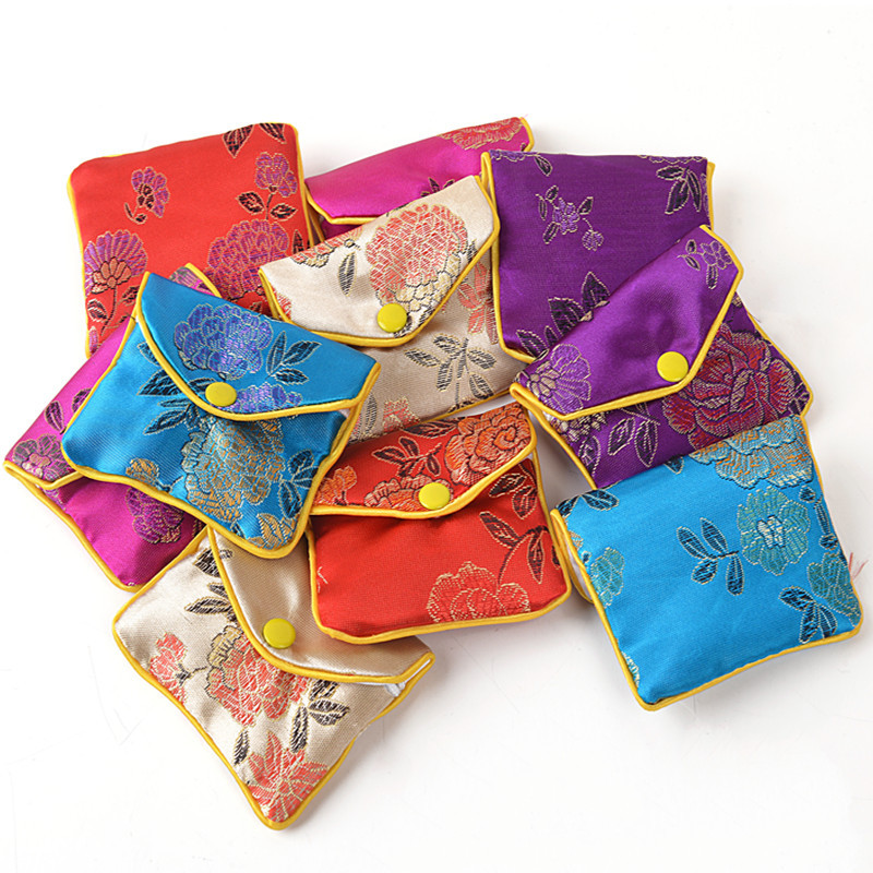 buy cheap small zipper jewelry gift pouch