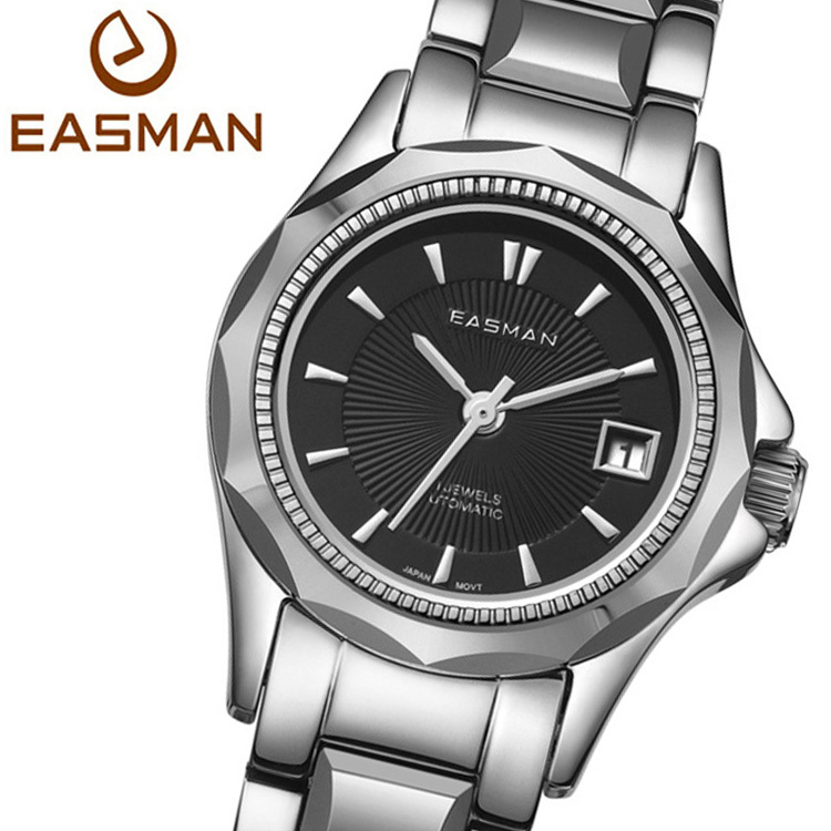 EASMAN Laides Watches New Dark Blue Automatic Mechanical Luxury Brands Top High Quality Best Wristwatches Women