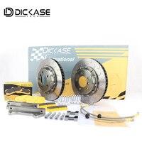 Высокая детали для автомобилей спортивного типа для BMW F18 для CP8521 красный тормозной суппорт дисковый тормоз ротора