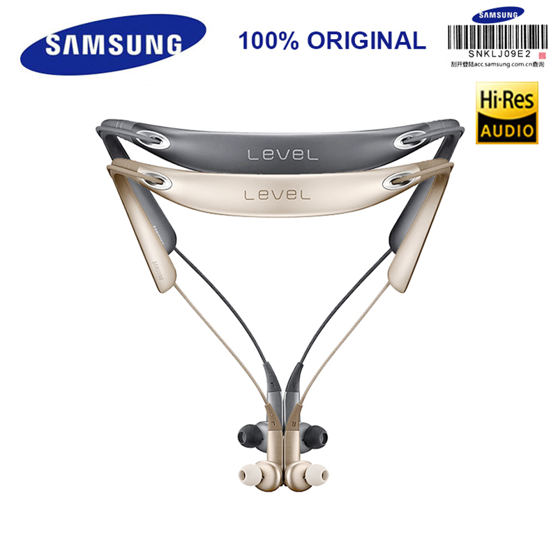 SAMSUNG D'origine Niveau U PRO Bluetooth Écouteurs Sport Col Intra-auriculaires A2DP, HSP, HFP, AVRCP pour Galaxy S8/8 Plus
