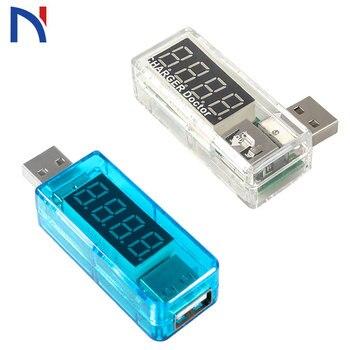 Voltmeter Smart Electronics Digital USB Mobile Power Charging Current Voltage Tester Meter USB Charger Doctor Voltmeter Ammeter
