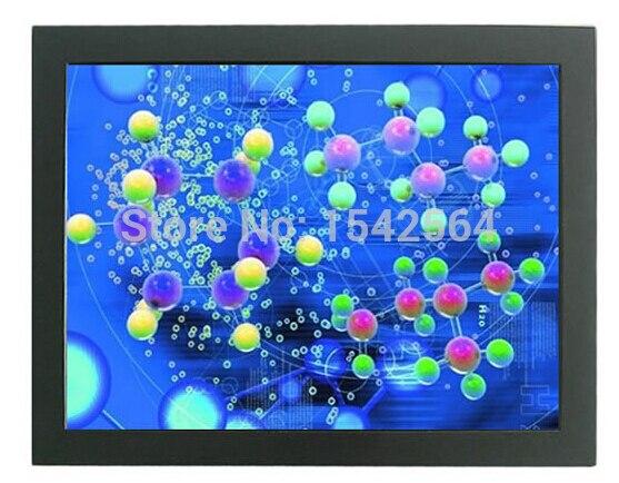 32 polegada open toque quadro monitor com HDMI DVI VGA entrada de sinal