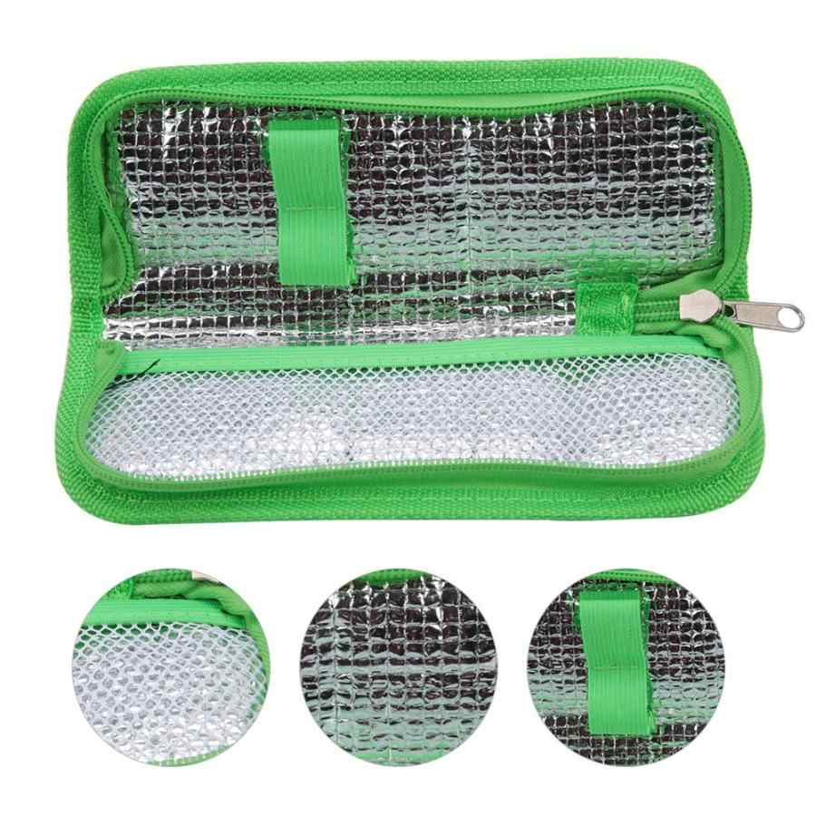 Portable Diabetic Insulin Cooling Bag Protector  Refrigerated Ice Pack Medical Cooler Insulation Organizer Travel Case Bag
