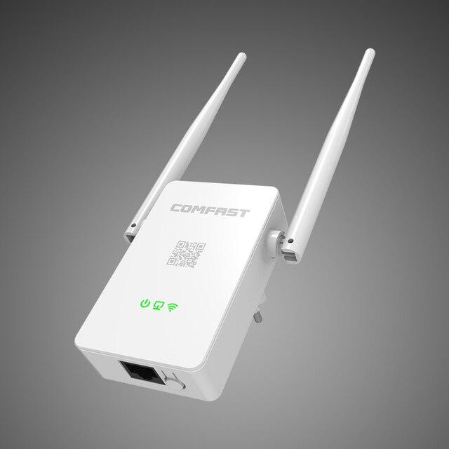 Update Comfast CF-WR302S WIFI Repeater Amplifier Repitidor 10dbi Antenna Wi-Fi Extender 300M Wireless WI FI Signal router repea