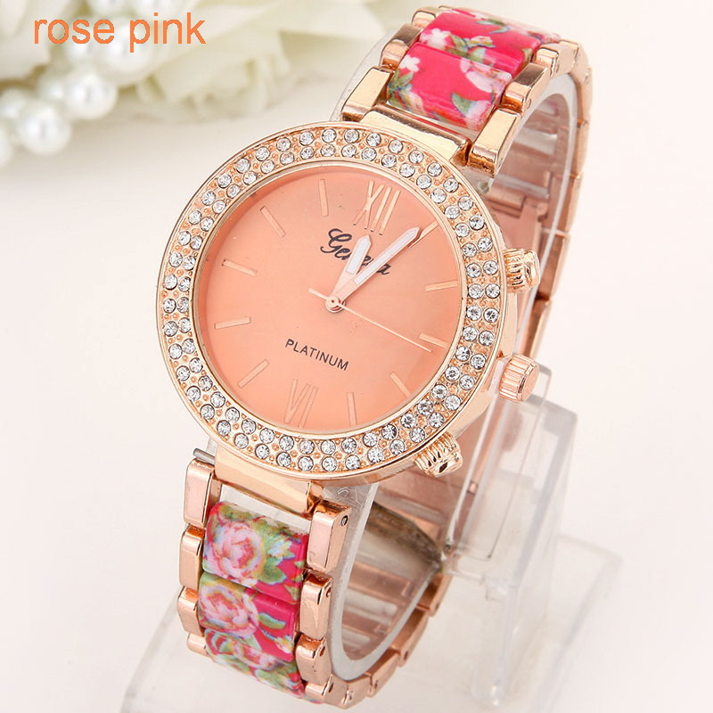 Flowers Women Watch  (6)