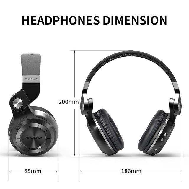 Bluedio T2S(Shooting Brake) Bluetooth stereo headphones wireless headphones Bluetooth 4.1 headset  headphones