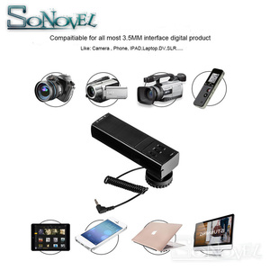 Image 5 - מקצועי DSLR מצלמה סטריאו מיקרופון עבור Canon EOS R M2 M3 M5 M6 M50 800D 760D 750D 200D 77D 80D 5Ds R 7D 6D 5D סימן IV