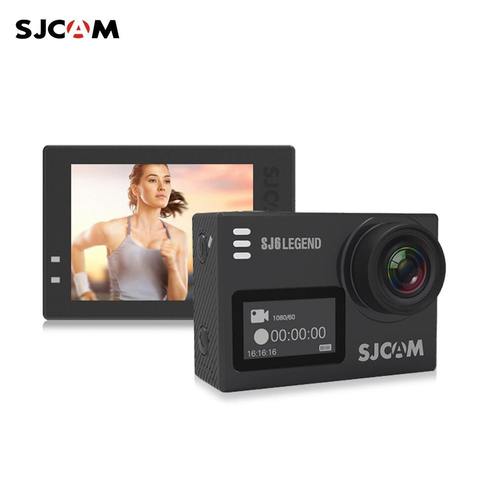 Original SJCAM SJ6 LEGEND 4 K 24fps Ultra HD Notavek 96660 étanche WiFi Sport Action caméra 2.0