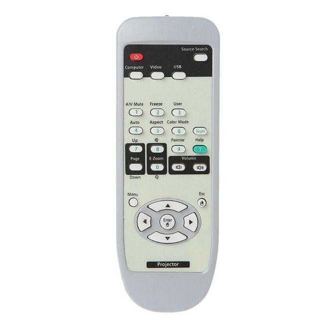 Pilot zdalnego sterowania do projektora Epson EB 410WE EMP X6 EMP S52 EMP X5 EB X6 EB S62 EB 475WI EB 480T EMP 77C 3LCD żarówka jak