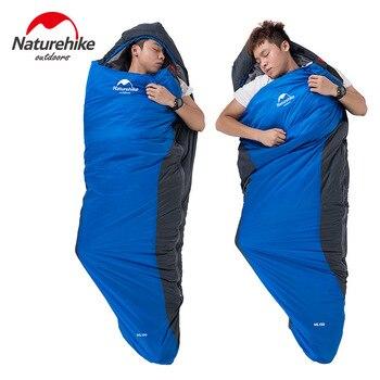 NatureHike Outdoor 220*83cm  Camping & Hiking Mummy Sleeping Bag For Winter Autumn Ultralight Sleeping Bag