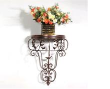European type iron art flower basket frame