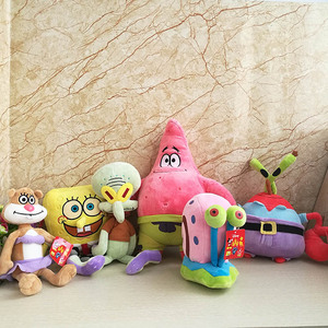 Spongebob Squidward Krabben Sandy Gary De Slak Knuffel 20-35 Cm Goede Kwaliteit Kinderen Speelgoed Verjaardagscadeau Gevulde dier Pop(China)