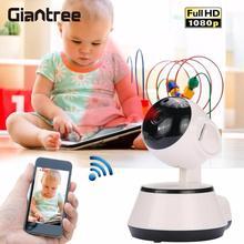 Giantree HD 1080P ip-камера 360 градусов Детский Монитор мини беспроводная WiFi камера наблюдения микро камера ночного видения аудио видео