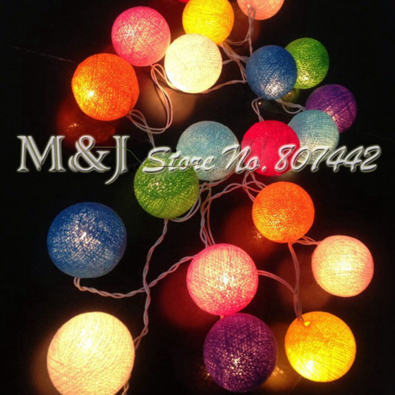 20ballsset colorful holiday household decorations color cane wedding halloweengift christmas decoration supplies